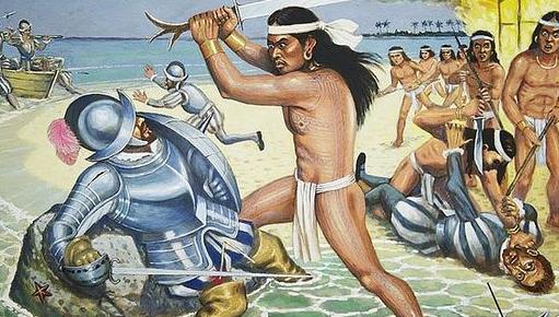 Lapu Lapu decolonizing the beach.